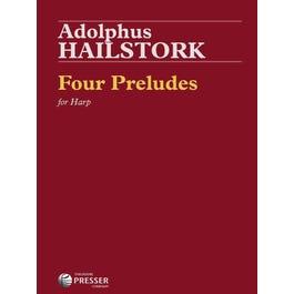 Carl Fischer Hailstork-Four Preludes For Harp