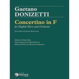 Carl Fischer Donizetti-Concertino in F