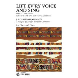 Carl Fischer Lift Ev'ry Voice And Sing -Flute And Piano