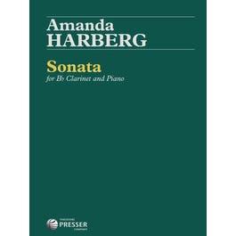 Carl Fischer Harberg-Sonata for Bb Clarinet and Piano