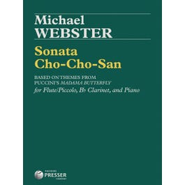 Carl Fischer Webster--Sonata Cho-Cho-San