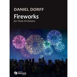 Carl Fischer Dorff-Fireworks For Flute Orchestra