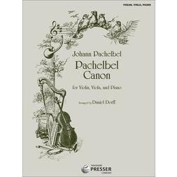 Carl Fischer Pachelbel Canon For Violin, Viola, and Piano