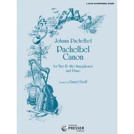 Carl Fischer Dorff-Pachelbel Canon -Alto Sax Duet