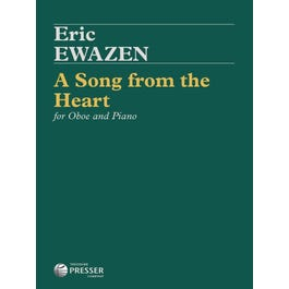 Carl Fischer Ewazen-A Song From the Heart for Oboe and Piano