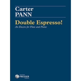 Carl Fischer Pann-Double Espresso! An Encore for Flute and Piano