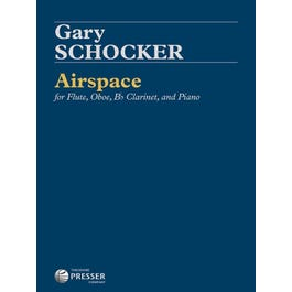 Carl Fischer Schocker-Airspace For Flute, Oboe, Bb Clarinet, and Piano