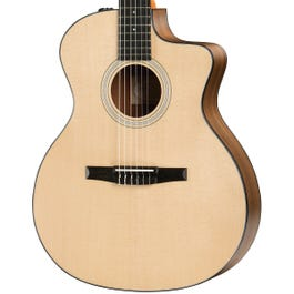 Image for 114ce-N Grand Auditorium Nylon-String Acoustic-Electric Guitar (Demo) from Sam Ash