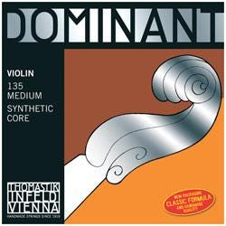 Image for Dominant 1/8 Size Violin Strings (Wound E String) from SamAsh
