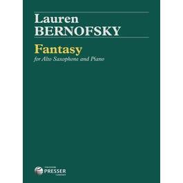Carl Fischer Bernofsky-Fantasy For Alto Saxophone And Piano