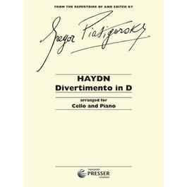 Carl Fischer Haydn-Divertimento In D -Cello/Piano