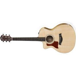 Taylor Guitars 214ce-K-DLX Koa Deluxe Grand Auditorium Left-Handed Acoustic-Electric Guitar