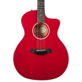 Image for 214ce Red DLX Acoustic- Electric Guitar from SamAsh