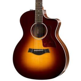 Image for 214ce-SB-DLX Sunburst Deluxe Grand Auditorium Acoustic-Electric Guitar from SamAsh