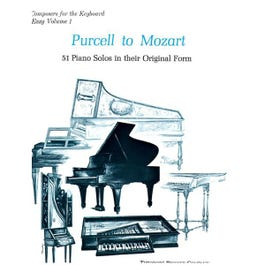 Image for Purcell to Mozart: 51 Piano Solos In Their Original Form from SamAsh