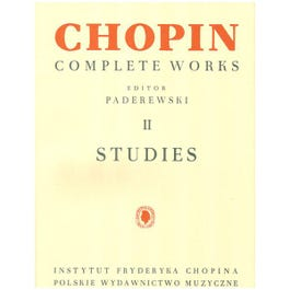 Image for Studies: Chopin Complete Works II from SamAsh