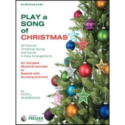 Image for Play a Song of Christmas (SATB) from SamAsh