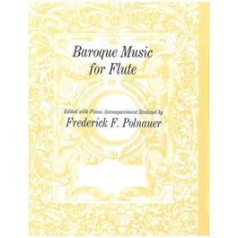 Image for Baroque Music for Flute from SamAsh