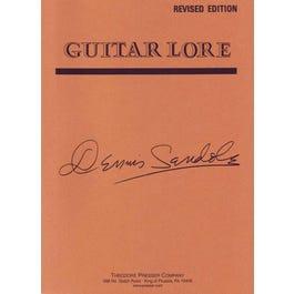 Carl Fischer Guitar Lore-Dennis Sandole- Revised Edition