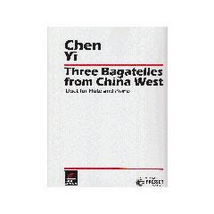Image for Three Bagatelles from China West Duet for Two Flutes from SamAsh