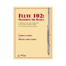 Image for Flute 102: Mastering The Basics A Method For The Intermediate Flutist with Piano Accompaniment from SamAsh