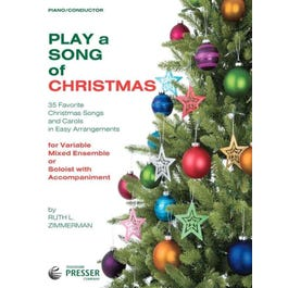 Carl Fischer Play A Song Of Christmas-Piano