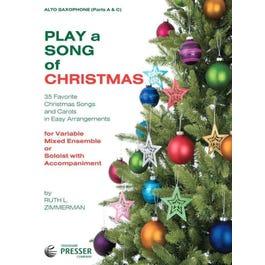 Carl Fischer Play A Song Of Christmas-Alto Sax