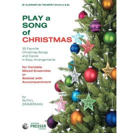 Carl Fischer Play A Song Of Christmas-Clarinet/Trumpet