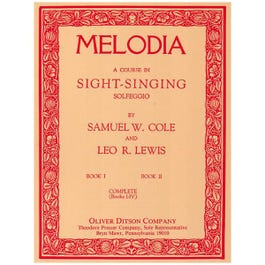 Image for Melodia A Course in Sight Singing Solfeggio (Complete) from SamAsh