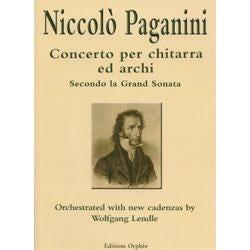 Image for Concerto Per Chitarra Ed Archi Secondo La Grand Sonata for Orchestra by Paganini from SamAsh