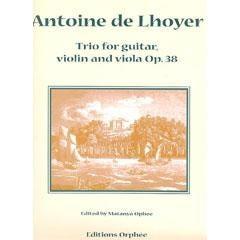 Image for De Lhoyer-Trio for Guitar