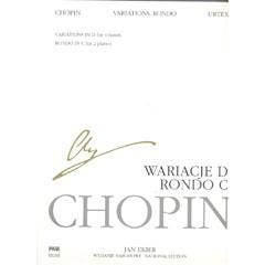 Image for Chopin Rondo in C major for two pianos