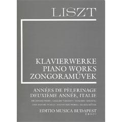 Image for Liszt-Annees de Pelerinage Duexieme Annee, Italie from SamAsh