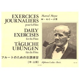 Image for Exercices Journaliers (Daily Exercises) for Flute from SamAsh