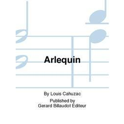 Carl Fischer Cahuzac-Arlequin-Clarinet Unaccompanied