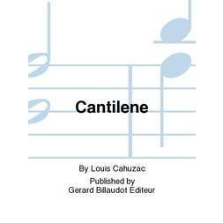 Carl Fischer Cahuzac-Cantilene-B-Flat Clarinet sheet music