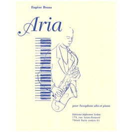 Image for Bozza - Aria for Alto Saxophone and Piano from SamAsh
