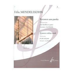 Image for Mendelssohn Romances Sans Paroles Op 53 No 4 (Oboe and Piano) from SamAsh