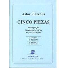 Image for Piazzolla Cinco Piezas from SamAsh