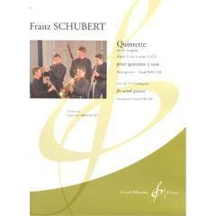 Image for Schubert-Quintette En Sib Majeur D'Apres Le Trio A Cordes D 471 (Flute) from SamAsh