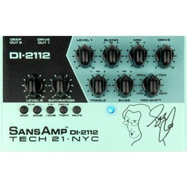 Image for Geddy Lee Signature SansAmp DI-2122 Bass Preamp Pedal from SamAsh