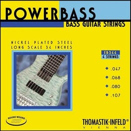 Image for EB344 Powerbass Electric Bass 4 String Set (47-107) from SamAsh