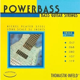 Image for EB345 Powerbass Electric Bass 5 String Set (47-119) from SamAsh