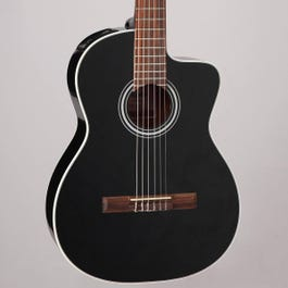 Image for GC1CE Nylon-String Acoustic-Electric Guitar (Black) from SamAsh