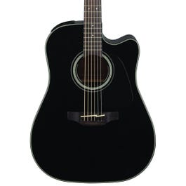 Image for GD30CE Acoustic Guitar (Black) from Sam Ash