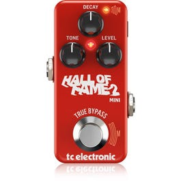 Image for Hall of Fame 2 Mini Reverb Guitar Effect Pedal from SamAsh