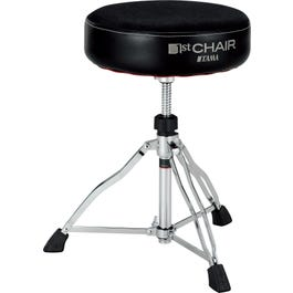 Image for 1st Chair Round Rider Drum Throne w/Cloth Top Seat from SamAsh