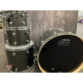 Drum Workshop 4-Piece Stainless Steel Lacquered Over Maple