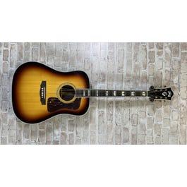 Guild USA D-55 Dreadnought Acoustic Guitar Antique Sunburst