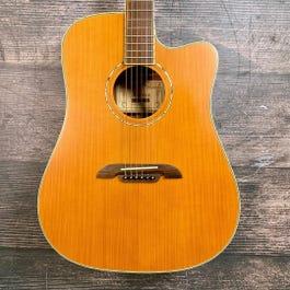 Alvarez Masterworks MD60C Dreadnought Acoustic-Electric Guitar (with Case)